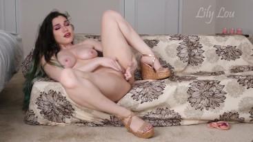 Lily Lou Masturbating in Heels - .mp4