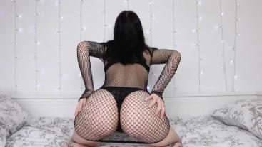 Goth girl ass worship JOI