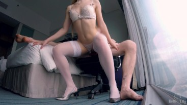 Honey moon with perfect blondie became really hot (original video)