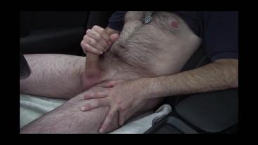Public Car Fun at roadside with cumshot (full version)