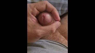 Rough morning hand job