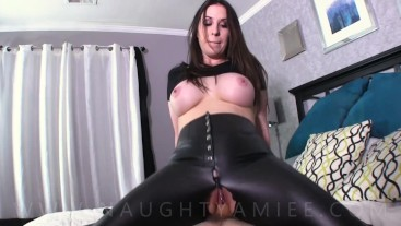My hot babe sister-inlaw wants my cock - Amiee Cambridge