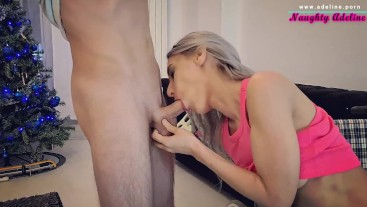 Needy girl with broken ankle in a wheelchair sucks dick for assistance - by Naughty Adeline